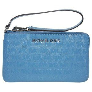 MICHAEL KORS Wristlet - Light Blue
